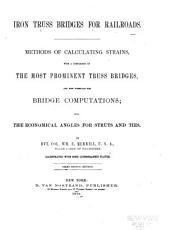 Iron Truss Bridges for Railroads PDF