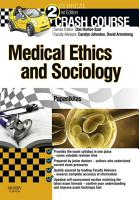 Crash Course Medical Ethics and Sociology Updated Edition   E Book PDF