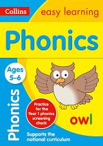 Phonics Ages 5-6: Ideal for Home Learning (Collins Easy Learning KS1)