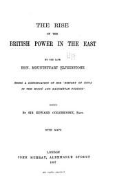 The Rise of the British Power in the East