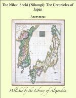 The Nihon Shoki (Nihongi): The Chronicles of Japan