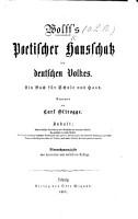 Poetischer Hausschatz des deutschen Volkes     Vierte Auflage PDF
