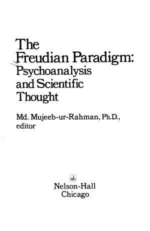 The Freudian Paradigm