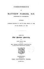 Correspondence of Matthew Parker