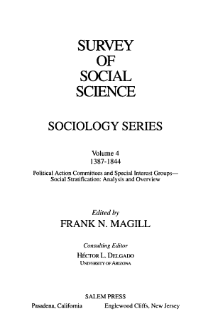 Survey of Social Science PDF