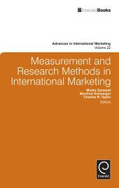 Measurement and Research Methods in International Marketing