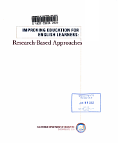 Improving Education for English Learners PDF