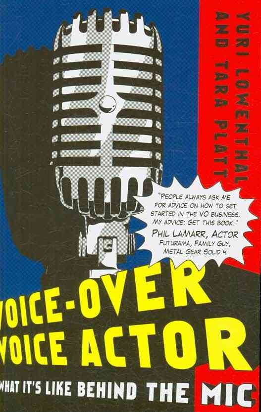 Voice-over Voice Actor