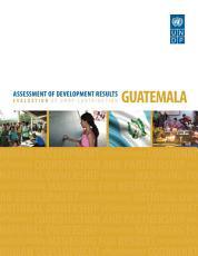 Assessment of Development Results   Guatemala PDF