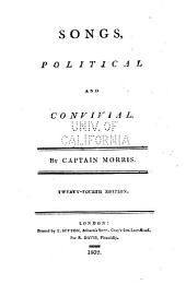Songs, Political and Convivial