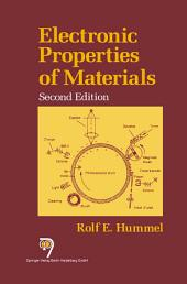 Electronic Properties of Materials: Edition 2