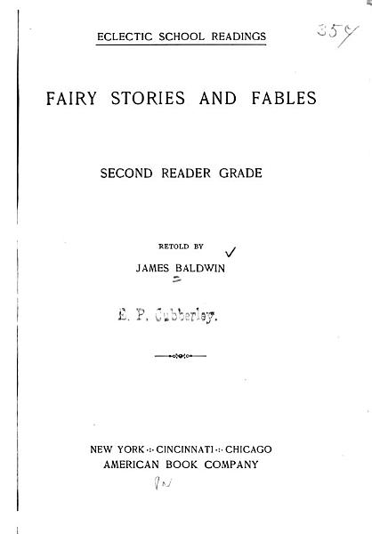 Fairy Stories and Fables PDF