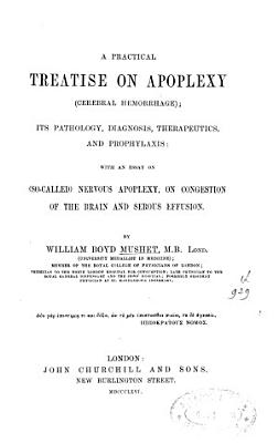 A Practical Treatise on Apoplexy PDF