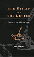 The Spirit and the Letter PDF