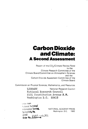 Carbon Dioxide and Climate PDF