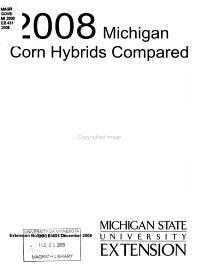 Corn Hybrids Compared  1964