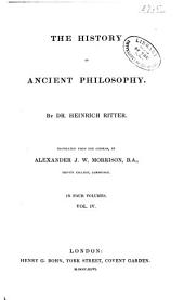 The History of Ancient Philosophy: Volume 4