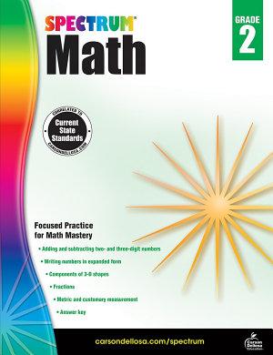 Spectrum Math Workbook  Grade 2
