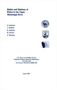 Habits and Habitats of Fishes in the Upper Mississippi River PDF