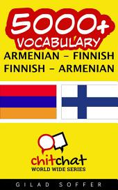 5000+ Armenian - Finnish Finnish - Armenian Vocabulary
