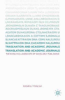 Translation and Academic Journals PDF