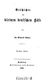 Geschichte der Kleinen Deutschen Hofe