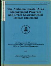 Alabama Coastal Area Management Program: Environmental Impact Statement
