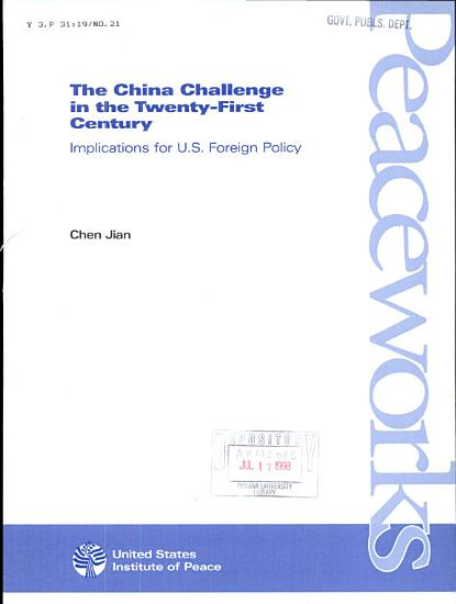 The China Challenge in the Twenty first Century PDF