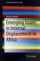 Emerging Issues in Internal Displacement in Africa PDF