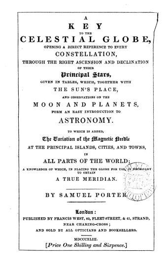 A key to the celestial globe PDF
