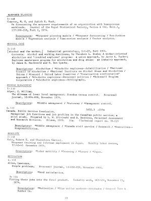 Personnel Literature PDF