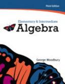 Elementary and Intermediate Algebra PDF