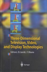 Three Dimensional Television  Video  and Display Technologies