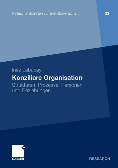 Konziliare Organisation PDF