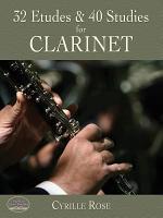 32 Etudes and 40 Studies for Clarinet PDF