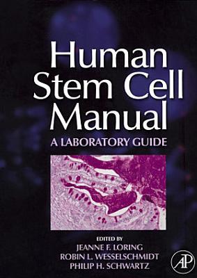 Human Stem Cell Manual PDF