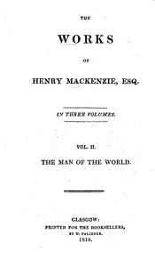 Works  The man of the world Book