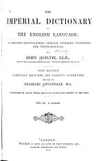 The Imperial Dictionary of the English Language