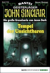 John Sinclair - Folge 1733: Tempel der Unsichtbaren