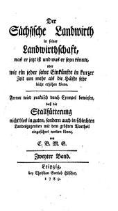 Der Sächsische Landwirth: Band 2