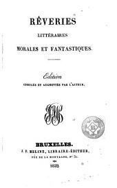 Rêveries littéraires, morales et fantastiques