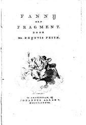 Fanny. Een fragment: Volume 1