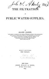 The Filtration of Public Water-supplies