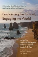 Proclaiming the Gospel  Engaging the World PDF