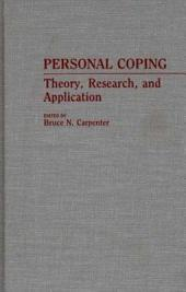 Personal Coping: Theory, Research, and Application