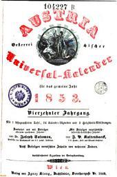 Austria oder Oesterreichischer Universal-Kalender. Hrsg. von Joseph Salomon: Band 14