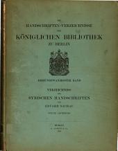 Die Handschriften-Verzeichnisse der königlichen Bibliothek zu Berlin: Band 23,Ausgabe 2