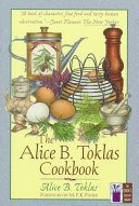 The Alice B  Toklas Cookbook