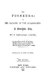 The Pioneers On The Sources Of The Susquehanna  Book PDF