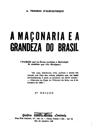 A Maconaria E A Grandeza Do Brasil